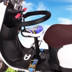 Ghế ngồi xe điện cho bé như xe máy điện, xe đạp điện có chỗ để chân rông > 25cm