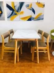 Bộ Bàn Ăn Mango Gỗ 4 Ghế Giá Tốt -Nami stores