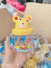 Bình nước nhựa Việt Nhật cho bé có ống hút
