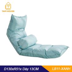 Tâm House Ghế bệt, ghế lười, ghế tựa kiểu Nhật kèm gối cao cấp – LB11