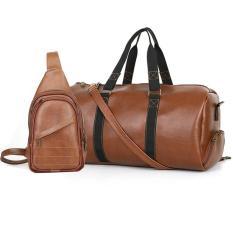 Túi du lịch cỡ lớn HANAMA quai xách dù siêu bền N11 TẶNG túi đeo chéo S16