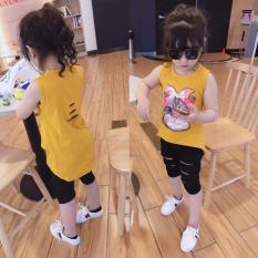 set bộ quần áo trẻ em mẫu mèo cào dành cho bé gái 1-5 tuổi. Thiết kế xin xắn, chất vải tốt.