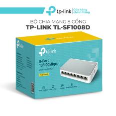 Ổ chia mạng 8 cổng TP-Link TL-SF1008D – Switch tplink 8 port tiện dụng, Bộ chia mạng 8 cổng chỉ cầm cắm và sử dụng, không cần cấu hình.