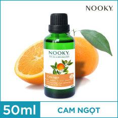 [50ml] Tinh Dầu Cam Ngọt Nooky 100% thiên nhiên – [TORO FARM] – Tặng một chai Gel rửa tay Shell cho đơn hàng bất kỳ.