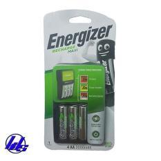 Bộ sạc pin AA, AAA Energizer CHVCM4 MAXI kèm sẳn 4 pin sạc AA2000mAh