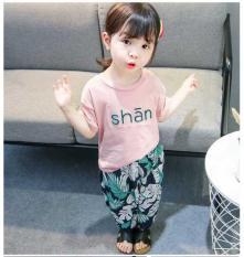 [MẪU MỚI] Bộ SHAN Thái Sành Điệu Cho Bé Gái 8-18kg