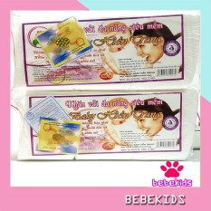 Khăn khô đa năng baby hiền trang (gói to 230gam) – Khăn vải khô loại đẹp – KV18 Bebekids gói 230gam