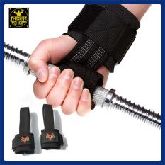 Dây kéo lưng kết hợp quấn cổ tay Valeo Fitness Lifting Straps hỗ trợ tập deadlift thể hình, gym, dây kéo tạ, dây hỗ trợ lên xà