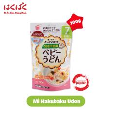 Mì ăn dặm Hakubaku baby udon cho bé từ 7 tháng