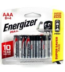 Pin Energizer AAA Vỉ 12 Viên – Hàng Chính Hãng