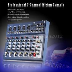 Mixer F7-USB có bluetooth- bộ lọc âm tiêu chuẩn