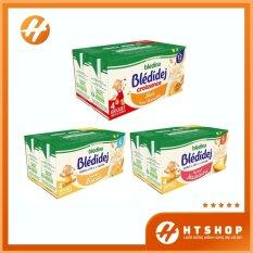 Sữa Nước Bledina Pháp Sánh Mịn Thơm Ngon Cho Bé Từ 6 Tháng Tuổi (Lốc 4 Hộp x 250ml)