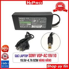 Cục sạc laptop SONY 19.5V 4.7A VGP-AC19V10 H2Pro, Dây nguồn máy tính hàng chính hãng