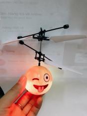 Đồ chơi máy bay hình mặt cười cảm ứng bằng tay có đèn led đẹp