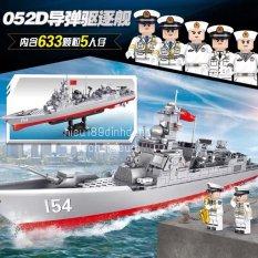 Lắp ráp xếp hình 105711 : Tàu chiến đấu 154 633+ mảnh