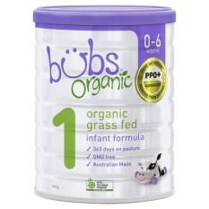 Sữa Bột Bò Công Thức Hữu Cơ Bubs Organic số 2 800gr – Dành cho trẻ từ 0-6 tháng tuổi