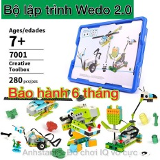 Lego Wedo 2 0 Bộ chuẩn 280 Pcs 01 Não 01 motor 2 cảm biến, Lego education Bảo hành bởi Anhstank 1:1 6 tháng