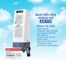 Quạt điều hòa làm mát inverter Akyo Ak3000