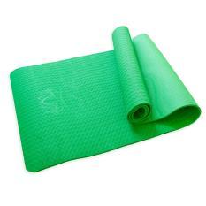 Thảm tập yoga TPE Âu Lạc kích thước 182x66cm (tặng kèm túi và dây buộc thảm)
