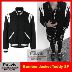 Áo bomber jacket Teddy, áo bomber teddy, jacket teddy