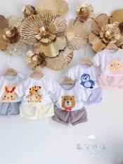 [MẪU MỚI 2021] Bộ cotton giấy cài vai Mềm Mịn Mát cho bé sơ sinh 3-14kg, được chọn màu – BO2