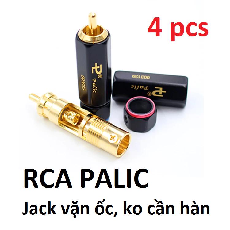 Jack AV khóa Palic