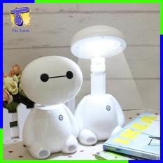 Đèn học để bàn -Đèn ngủ tích điện chân sạc thông minh,mô hình Baymax dễ thương,trang trí nhà cửa,chụp hình độc đáo