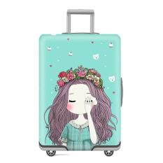 👏Vỏ bọc Vali hành lý du lịch – Hình cô gái