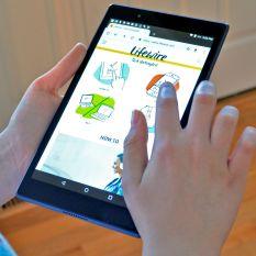 Máy tính bảng Lenovo Tab 4 8inch Màu Đen Pin 5000mAh – Android gốc 7.1( android 8.0)