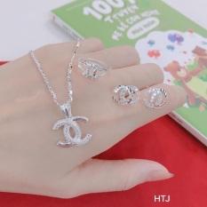 Bộ Chanel sang chảnh cho nữ – Set bạc S925, cam kết hàng đúng mô tả, chất lượng đảm bảo, xin inbox cho shop để được tư vấn thêm