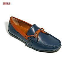 Giày Loafer Da Dây Nơ Schulz