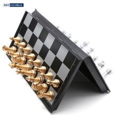 Bộ cờ vua vàng bạc nam châm size 25cm QX5610-A
