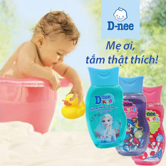 [HCM][ KHÔNG CAY MẮT] Sữa tắm gội D-nee Kid Thái Lan 200ml cho bé 3 tuổi trở lên Hạn sử dụng 24 tháng kể từ ngày sản xuất.