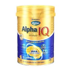 SỮA BỘT DIELAC ALPHA GOLD IQ 1 400G (CHO TRẺ TỪ 0 – 6 THÁNG TUỔI)