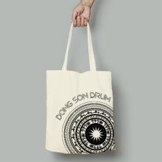 Túi TOTE túi xách túi vải canvas túi đeo vai đi học đi làm họa tiết phong cách Hàn Quốc