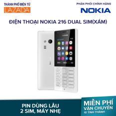 Điện thoại Nokia 216 Dual sim – Màu Xám