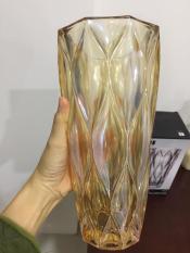 Lọ hoa cao cấp men vàng MV2