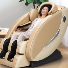 [Có Video] Ghế massage toàn thân có con lăn bi co giãn, máy matxa không trọng lực ,ghế thư giãn có điều khiển