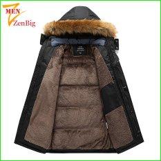 Áo khoác nam, áo phao nam cỡ lớn dành cho người mập, bụng bự – Áo khoác phao nam bigsize lót lông dành cho người từ 80-150kg