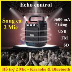 Loa Bluetooth Karaoke, Loa công suất lớn, Loa Bluetooth mini, Loa bluetooth giá rẻ, Loa bluetooth xách tay Haoyes K99 âm thanh trong trẻo và rõ nét, pin sạc dung lượng 3.600mAh, khả năng hát karaoke Bluetooth đỉnh cao.Bảo hành 1 đổi