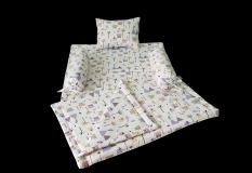 Bộ chăn đệm gối cho bé bằng vải cotton chất lượng (Sản phẩm công ty MYM)