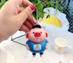 Móc khóa lợn móc khóa con heo cute dễ thương nhiều mẫu