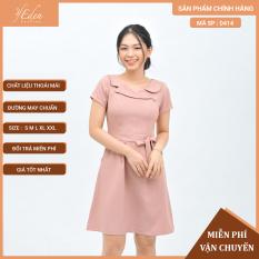 Váy Đầm Công Sở Nữ Thời Trang Eden Dáng Chữ A – D414
