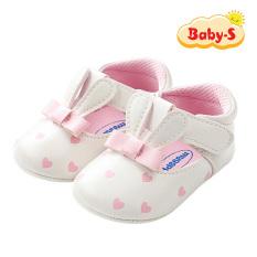 Giày tập đi cho bé 0-18 tháng tuổi chất da PU mềm mại an toàn cho làn da nhạy cảm của bé họa tiết tai thỏ đáng yêu Baby-S – STD20