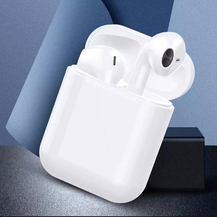 Tai nghe Bluetooth Không Dây i12s Nâng Cấp Chip 5.0 BLUETOOTH, Mic Đàm Thoại 2 Bên , Tai Nghe Không Dây Tai Nghe Bluetooth Nhét Tai, Tai Nghe Bluetooth i12