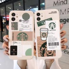Mềm Trường Hợp Bahan Tpu Motif Starbucks Dành Cho Iphone 11 12 Pro Max 6 6S 7 8 Plus Xr X Xs Max Se 2020 ốp lưng iphone 7 plus