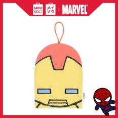Găng tay tắm Miniso thêu họa tiết siêu anh hùng Marvel (Giao màu ngẫu nhiên) – Hàng chính hãng