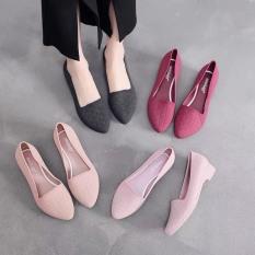 giày nữ- giày nhựa nữ hoa mềm dẻo đi mưa, đi biển, đi chơi công sở 3pđi làm – Chất liệu siêu nhẹ, siêu dẻo-dn2