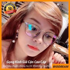 Mắt kính giả cận cao cấp gọng dẻo dành cho cả nam và nữ BDGD209 – Gọng kính cận không độ Hàn Quốc – Bảo hành 12 tháng – Tặng kèm hộp + Khăn Lau