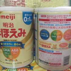 Sữa meiji 0-1 mẫu mới date mới. Date tháng 4,5/2022